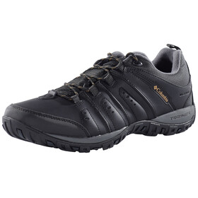 Columbia Peakfreak Woodburn II Shoes Waterproof Herren black / caramel